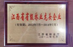 Jiangxi Provincial Forestry Leading Enterprise